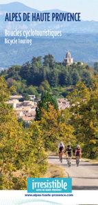 Carte cyclotouristique : 17 boucles cyclotouristiques Alpes de Haute Provence