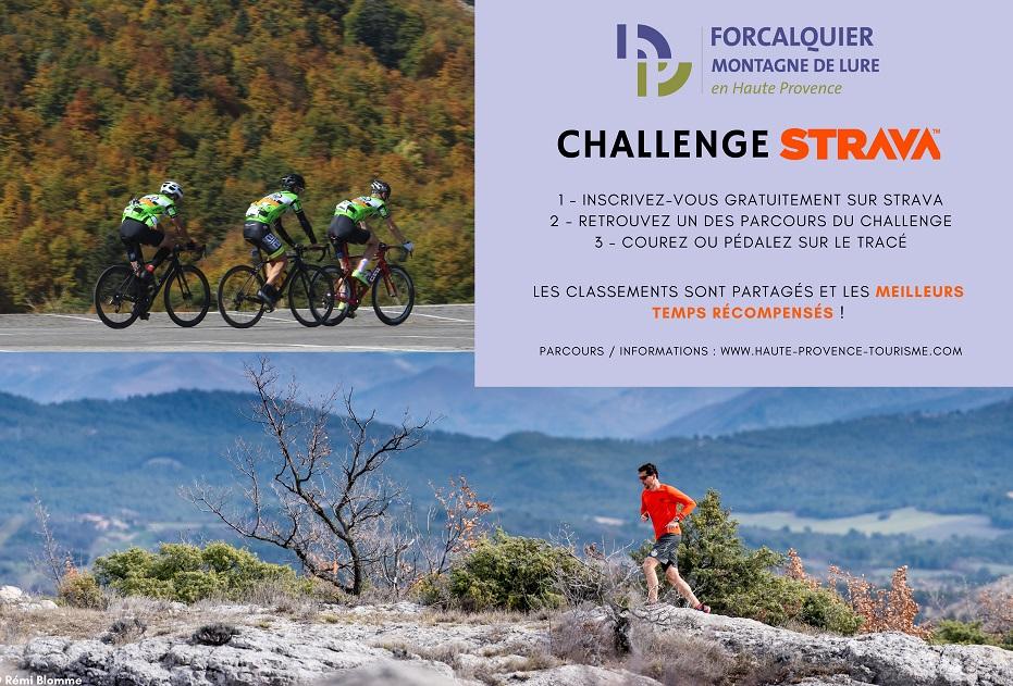 Challenge Strava dans le Pays de Forcalquier – Montagne de Lure
