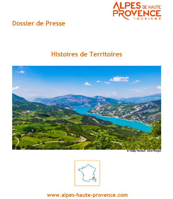 Dossier de Presse Alpes de Haute-Provence Histoires de Territoires
