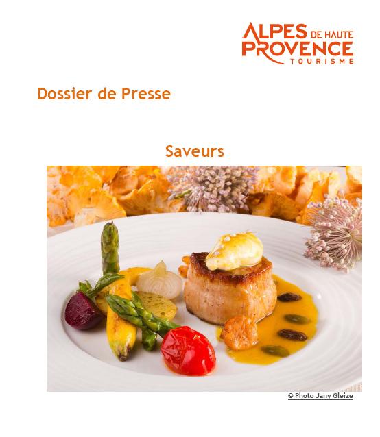 Dossier de Presse Les saveurs des Alpes de Haute-Provence