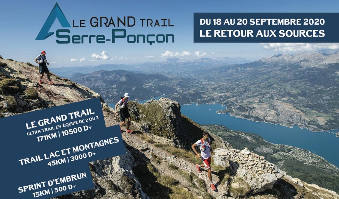 Grand trail de Serre Ponçon - Du 18 au 20 septembre 2020