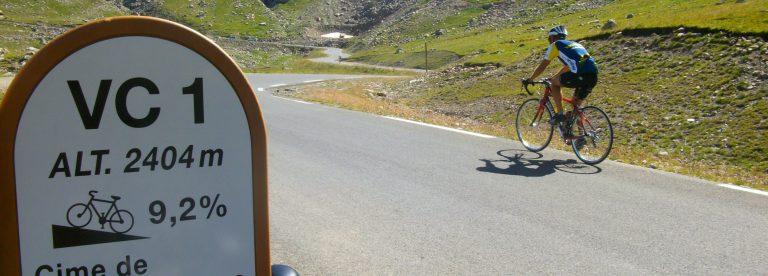 vélo col de la Bonette
