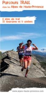 Brochure trail dans les Alpes de Haute-Provence
