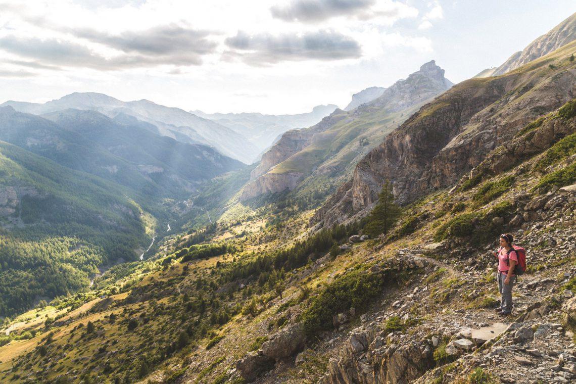 randonnée La Cayolle sur le GR 56©Théo Giacometti