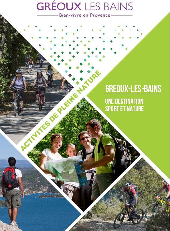 Dossier de presse - Activités de pleine nature - Gréoux-les-Bains
