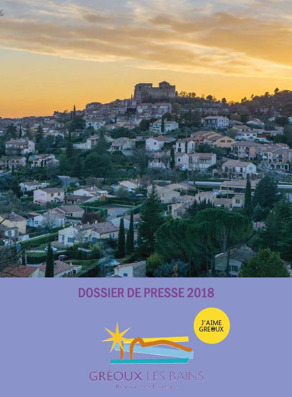 Dossier de presse - Gréoux-les-Bains
