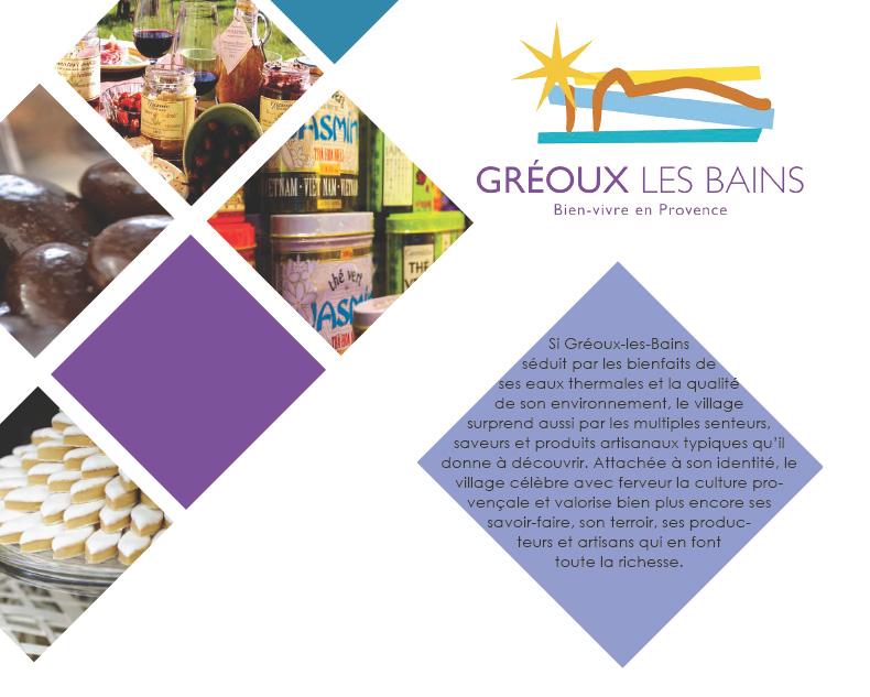 Dossier de presse - Saveurs - Gréoux-les-Bains