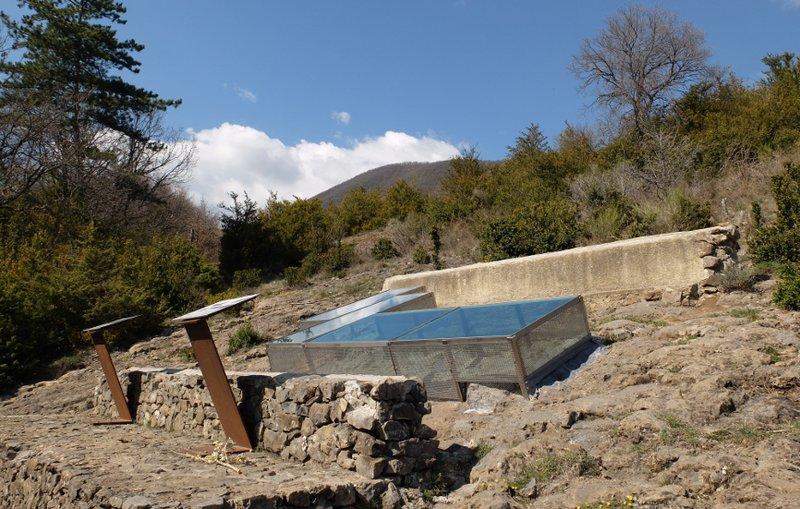 Site de l'Ichtyosaure - FE - CD Alpes de Haute-Provence