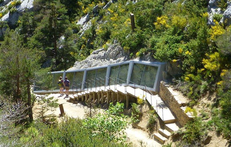 Site des Siréniens Castellane - SA - CD Alpes de Haute-Provence