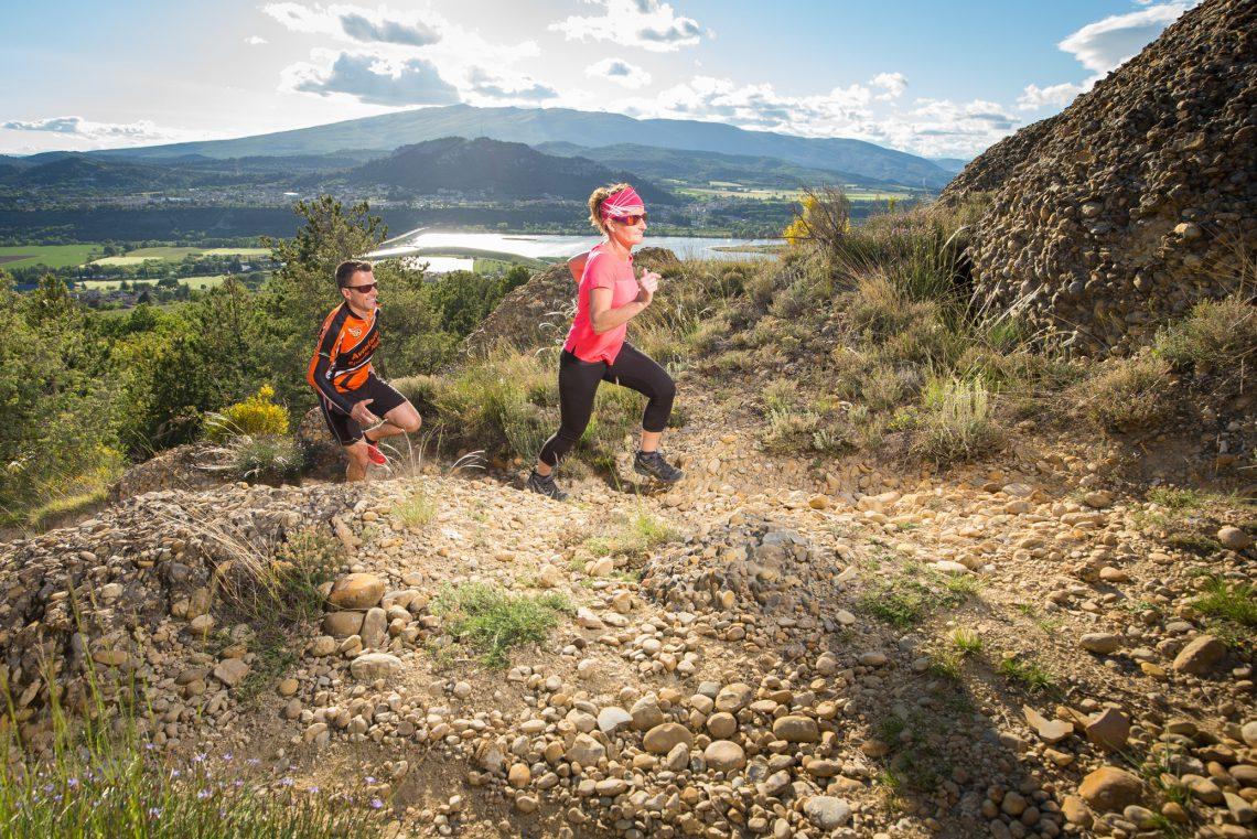 Trail dans le Val de Durance ©Jean-Luc Armand Photographe