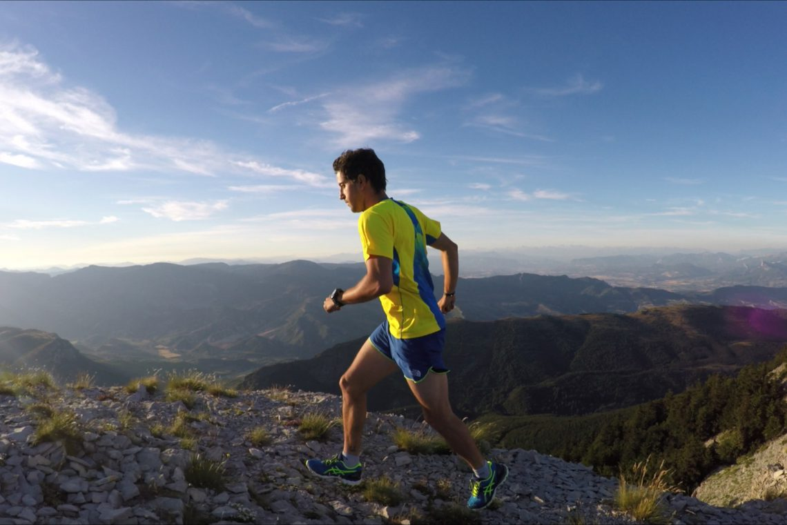 course dans la montagne de Lure ©Romain Corraze