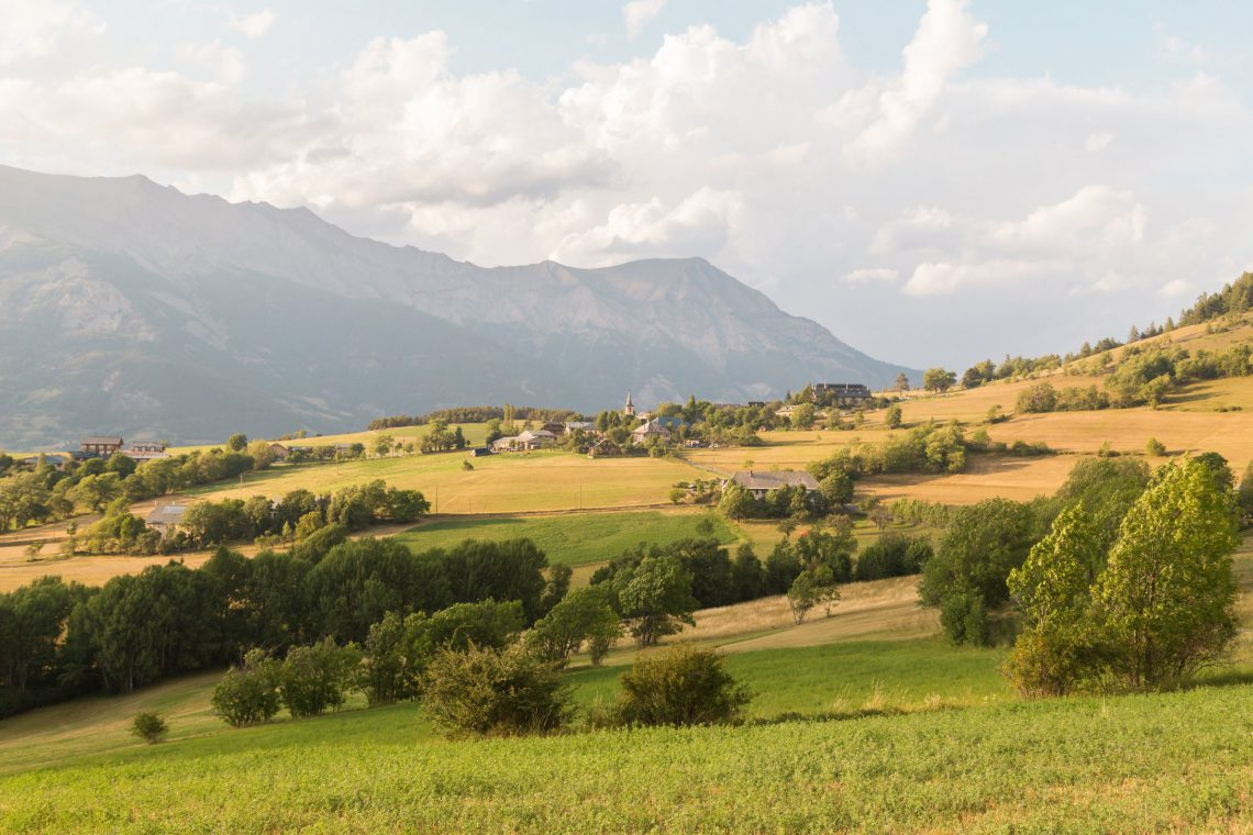 Espace Trail de la vallée de l'Ubaye La Conche ©Théo Giacometti