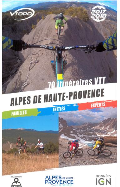 topo-vtt-alpes-haute-provence 2018 avec 70 itinéraires