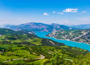 lac de Serre-Ponçon ©Teddy Verneuil