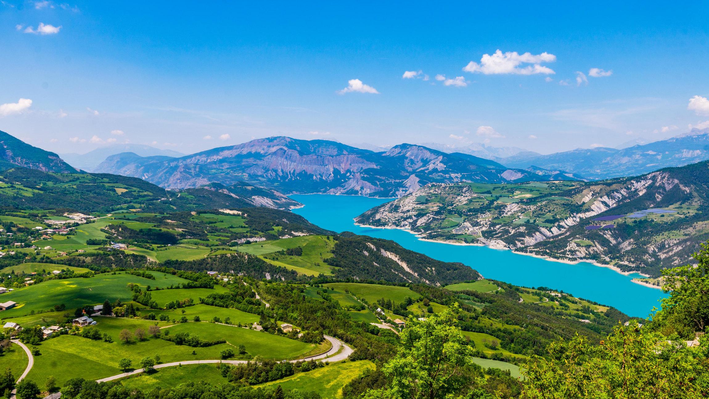 Lac Serre Poncon : Muséoscope of serre ponçon lake
