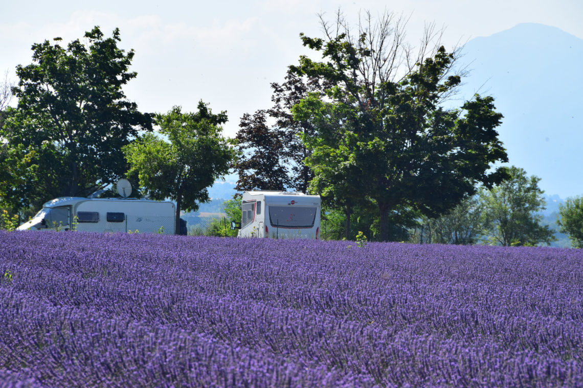 Aire de camping-car de Puimoisson ©Camping-car Club de Digne-les-Bains