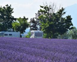 Aires de camping-car de Puimoisson ©Camping-car Club de Digne-les-Bains