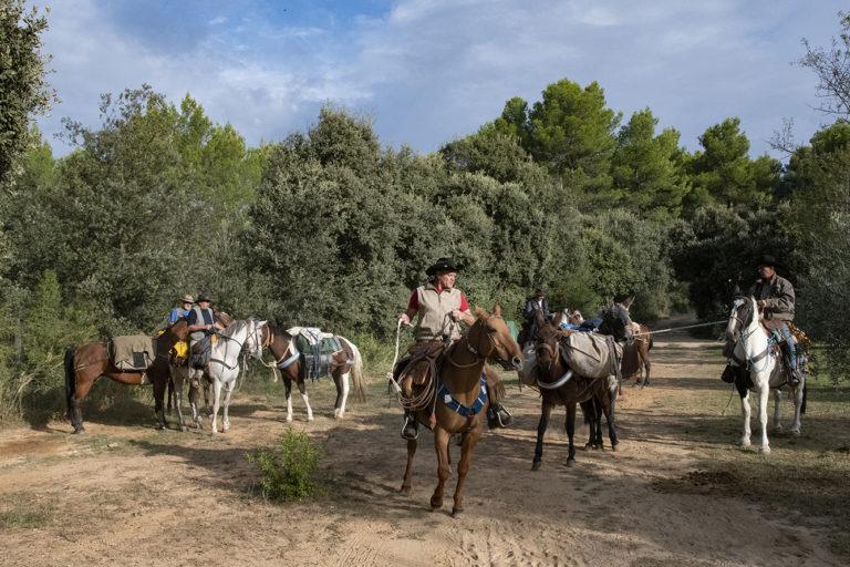cavaliers sur La Routo ©Alain Le Breton/AD04