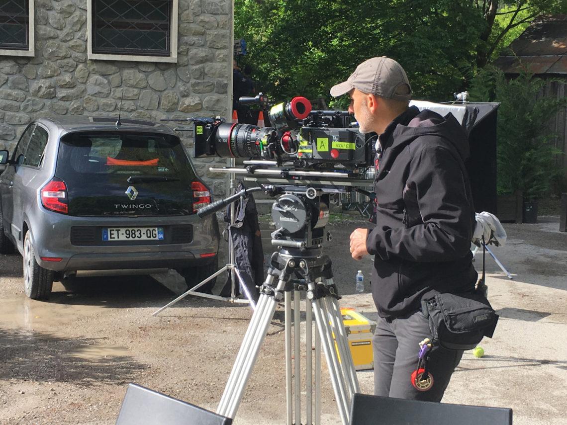 """Tournage du film """"Jusqu'à ce que la mort nous unisse"""" à Colmars-les-Alpes"""