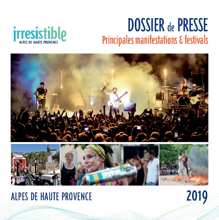 Dossier de presse manifestations et festivals