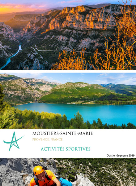 Dossier de presse - Activités sportives - Moustiers-Sainte-Marie