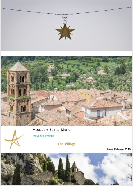 Press Release The Village Moustiers-Sainte-Marie