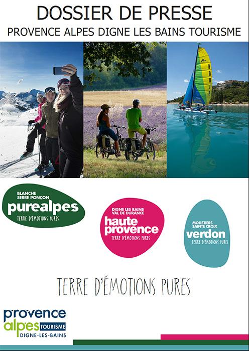 Dossier de presse - Provence Alpes Digne les Bains