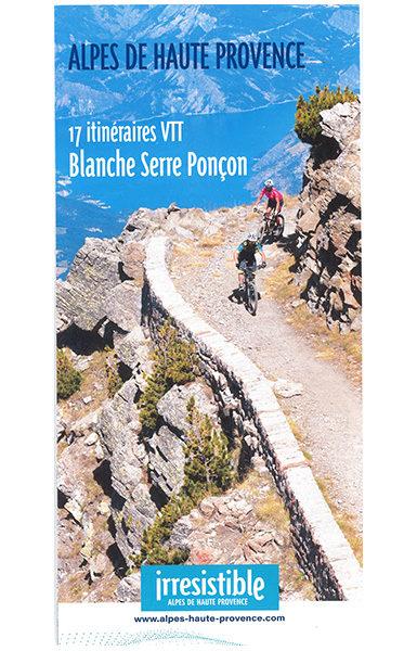 Carte Blanche Serre-Ponçon, 17 itinéraires VTT