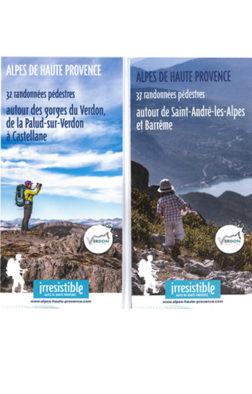 carte randonnée pédestre St-André Castellane