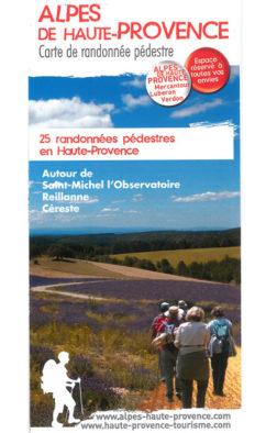 Saint Michel l'Observatoire, Reillanne et Céreste - 25 promenades et randonnées