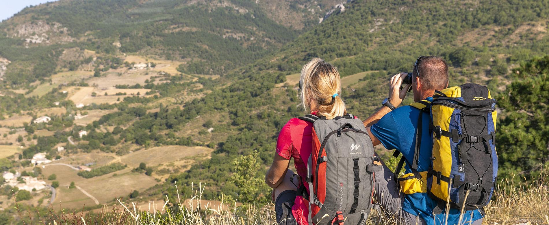 Randonnée pédestre dans la Vallée du Jabron