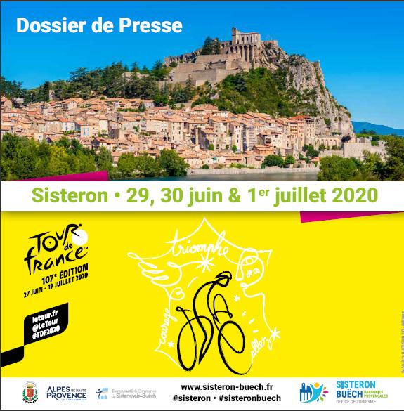 Dossier de presse - Tour de France à Sisteron
