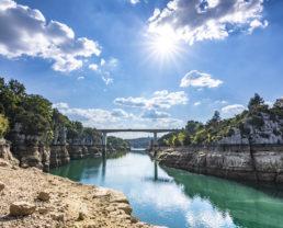 Basses gorges du Verdon ©AD04-Philippe Murtas