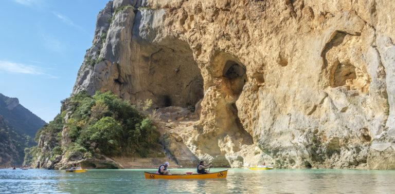 Canoe gorges du Verdon ©AD04-Philippe Murtas