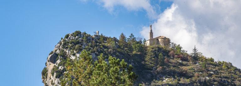 Castellane Notre Dame du Roc ©AD04-Philippe Murtas