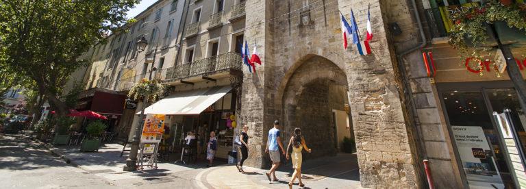 Porte Saunerie à Manosque ©AD04-Thibaut Vergoz