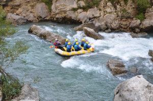 Rafting ©Gîtes de France Alpes de Haute Provence