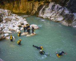 canyoning Verdon ©AD04 - Philippe Murtas