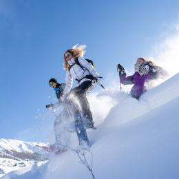 Randonnée raquettes à neige ©AD04-Rogier Van Rijn