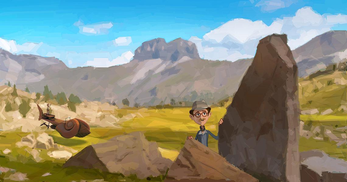 Jouez avec l'Aventure géologique - Edition 5 La course de la Cordulie ©CD04