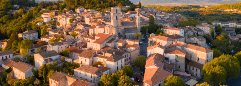 Ville de Forcalquier ©AD04-Loic Lagarde