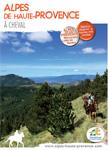 Chevaucher : Carte Cheval dans les Alpes de Haute Provence