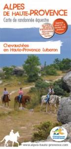 Carte Chevauchées en Haute-Provence Luberon